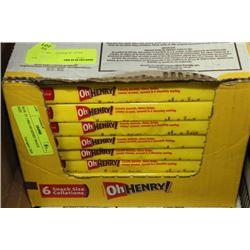 BOX: 24 6-90G OH HENRY SNACK SIZE