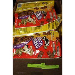 BOX: 24-113G DINGO BAC'N'BITS DOG TREATS