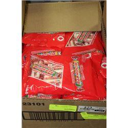 BOX: 36-150G ROCKETS CANDY ROLLS