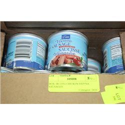 BOX: 48-135G CHICKEN VIENNA SAUSAGES