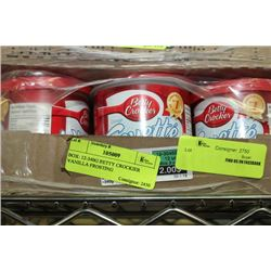 BOX: 12-340G BETTY CROCKIER VANILLA FROSTING