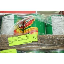 BOX: 12-398ML DEL MONTE PEACH SLICES