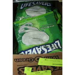 BOX: 12-150G LIFE SAVERS WINT-O-GREEN
