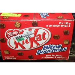 BOX: 15-130G KITKAT BITES