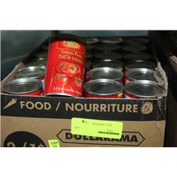 BOX: 48-156ML DOLLARAMA TOMATO PASTE