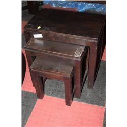 3 PC NESTING TABLE SET