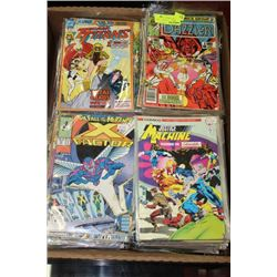 BOX OF OVER 100 COLLECTIBLE COMICS