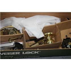 NEW WEISER LOCK HANDLE SET