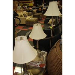 SET OF 3 LAMPS S/S