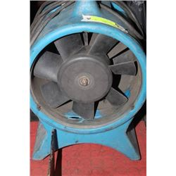BLUE HEAVY DUTY FAN