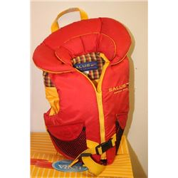 CHILD SIZE 30-6-LB LIFE JACKET