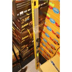 STANLEY 4' LEVEL AND 3' DRY WALL LEVEL