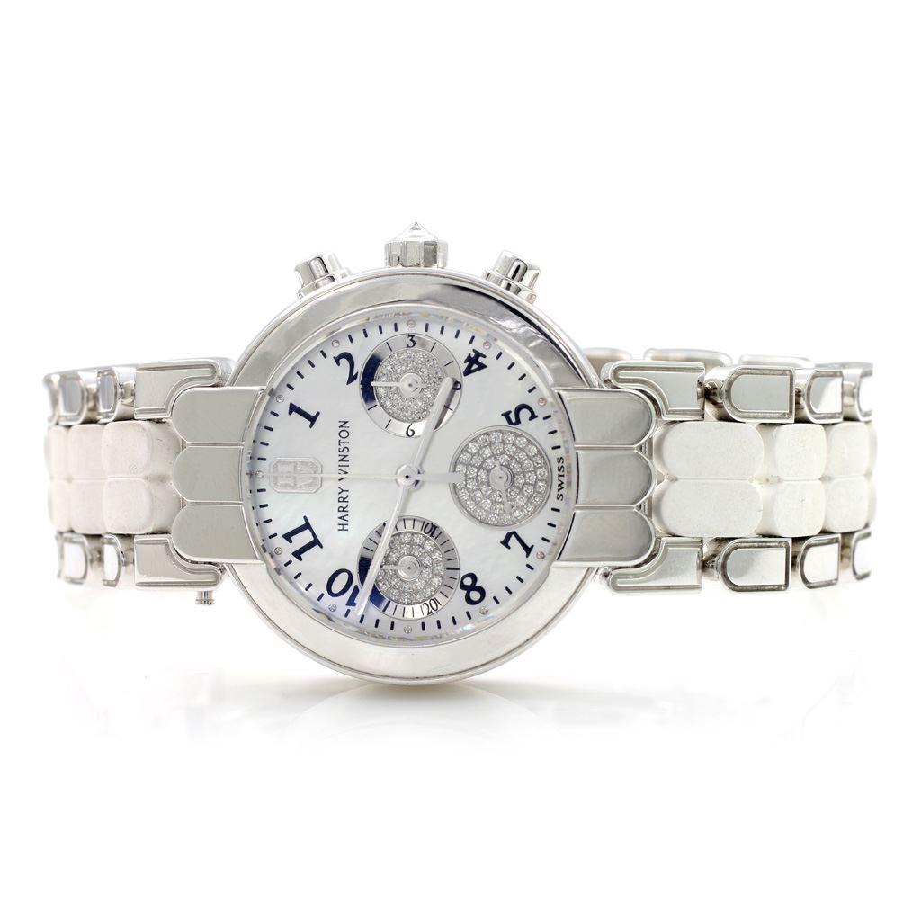 f5208a1b0dd Harry Winston 18 K Gold Diamond Watch