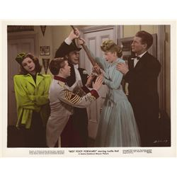 Collection of Lucille Ball Studio Publicity Photos & Lobby Cards from Best Foot Forward