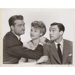 Collection of Lucille Ball Studio Publicity Photo Stills from Du Barry was a Lady
