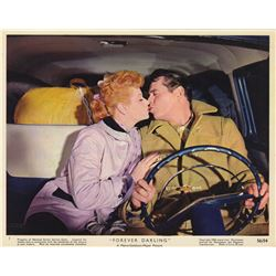 Collection of Lucille Ball & Desi Arnaz Publicity Photos, Lobby Cards & Poster from Forever Darling