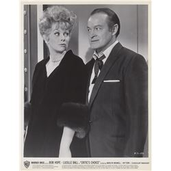 Collection of Lucille Ball & Bob Hope Publicity Photos, Lobby Cards & Poster from Critic's Choice
