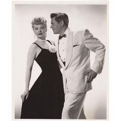 Original Lucille Ball & Desi Arnaz Photograph by Ernest A. Bachrach