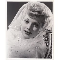 Set of 2 Original Lucille Ball Photos By Ernest A. Bachrach