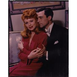 Lucille Ball & Gene Kelly Color Camera Transparency from Ziegfeld Follies by Clarence Sinclair Bull