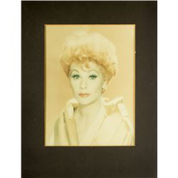 Pair of Oversized Gallery Portraits of Lucille Ball from Her Production Office