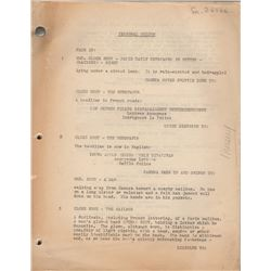 Original Script for Lured Starring Lucille Ball & Boris Karloff