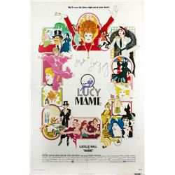Mame One-Sheet Poster Signed by Lucille Ball