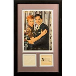 Vintage Lucille Ball and Desi Arnaz Autographs