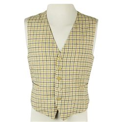 Desi Arnaz Custom Vest Tailored by Harry Irwin