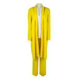 Lucille Ball Personal Canary Yellow Pants Suit