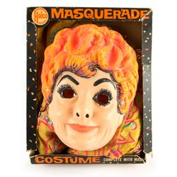 Desilu's Lucille Ball Masquerade Costume Complete with Mask by Halco