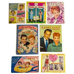 Collection of I Love Lucy Cut Out Dolls and Coloring Books