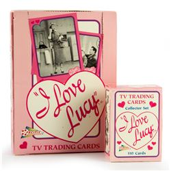 I Love Lucy Trading Cards Set and Unopened Carton