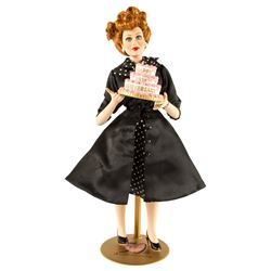 I Love Lucy 50th Anniversary Lucille Ball Porcelain Doll