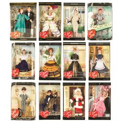 "Collection of 12 ""I Love Lucy"" Collector Dolls by Mattel"