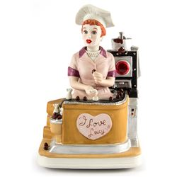 I Love Lucy Candy Factory Musical Porcelain Figurine
