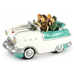 I Love Lucy Car Cookie Jar by Vandor