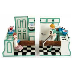 I Love Lucy Book Ends by Vandor