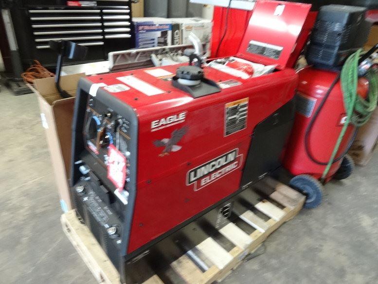 Lincoln Eagle 10K & New Gas Welder/Generator