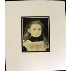 Pierre-Auguste Renoir Engraving From 1921 Et Ses Amis