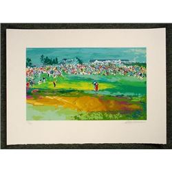 Shinnecock Signed LE Golf Art Print LeRoy Neiman 1995