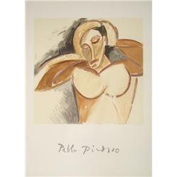 Pablo Picasso Marina Print La Demoiselle d'Avignon