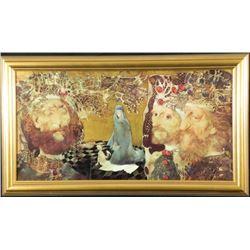 Endre Szasz Art Print The Three Kings -Framed