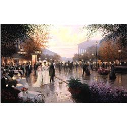 Signed Christa Kieffer Art Print - Cafe Madeleine