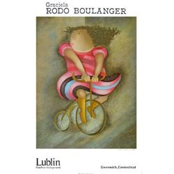 Graciela Rodo Boulanger Tricycle Lithograph Art Print
