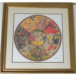 Marc Chagall Paris Opera Ceiling Framed LE Signed
