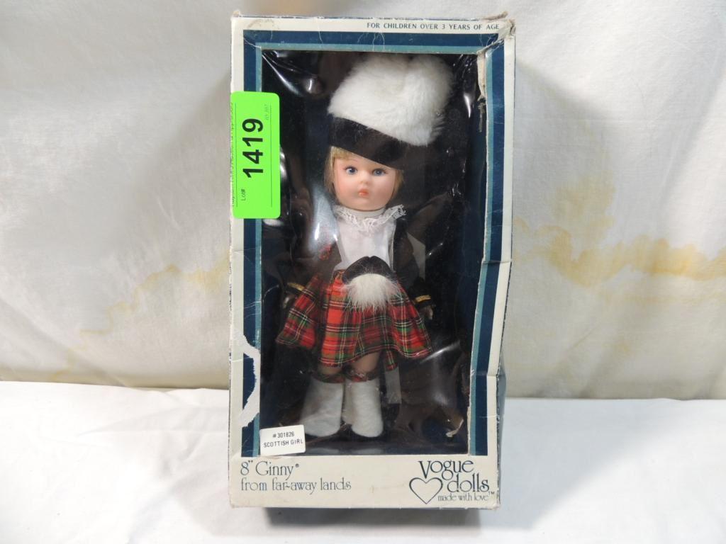 Vogue doll Ginny school uniform,all clothing shown.No doll.