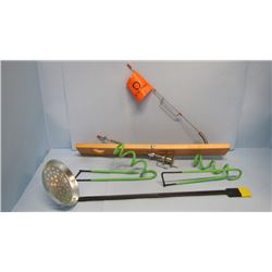 LOT ASSORTED ICE FISHING SUPPLIES