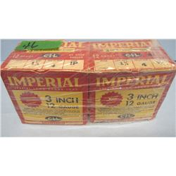 """LOT 50 RNDS IMPERIAL 12 GA AMMO 3"""""""