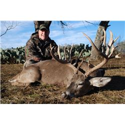 3-Day Whitetail Deer Hunt for One Hunter and One Non-Hunter in Texas - Includes Trophy Fee
